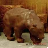 sculpture ours objet de curiosite an002