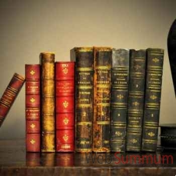 Livres petites reliures cuir Objet de Curiosité -LIV007