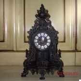 horloge en laiton noir objet de curiosite dl025