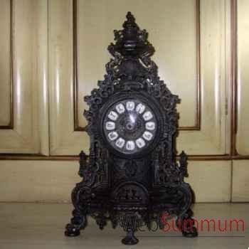 Horloge en laiton noir Objet de Curiosité -DL025