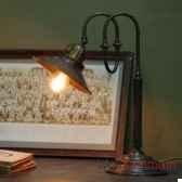 lampe de bureau courbee objet de curiosite lu056