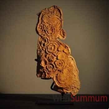 Stromatolite en plaque Objet de Curiosité -FO020