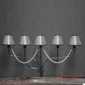 lampe 5 bras a perles objet de curiosite lu060
