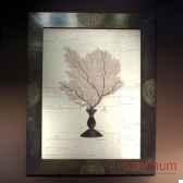 tableau de gorgone noire objet de curiosite ta059