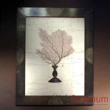 Tableau de gorgone noire Objet de Curiosité -TA059