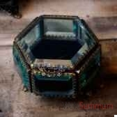 boite hexagonale objet de curiosite va018