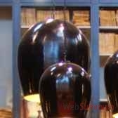 lustre oeuf tgm noir objet de curiosite lu070