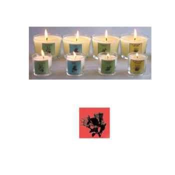 Tour de Table -Bougie senteur Fleur d'oranger (petit modèle)