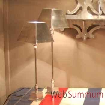 Lampe aluminium gm Objet de Curiosité -LU079