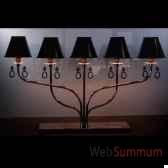 lampe a poser 5 bras objet de curiosite lu065