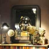 miroir convexe geant objet de curiosite mr011