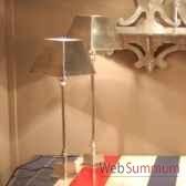 lampe aluminium pm objet de curiosite lu078