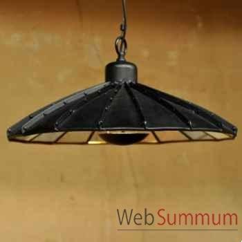 Suspension industrielle à facettes Objet de Curiosité -LU102BIS