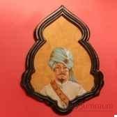 maharadja a la plume objet de curiosite ta070