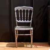chaise napoleon argent objet de curiosite si025