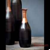 vase tri colore objet de curiosite dl092