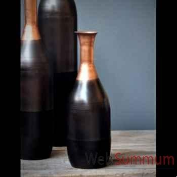 Vase tri-colore Objet de Curiosité -DL092