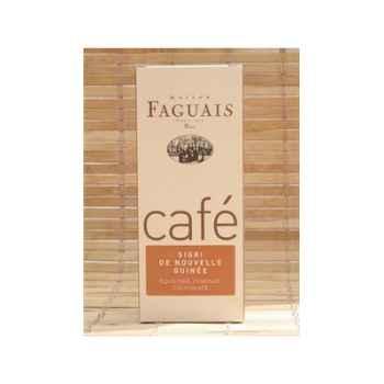 Maison Faguais-Café Sigri de Nouvelle Guinée.