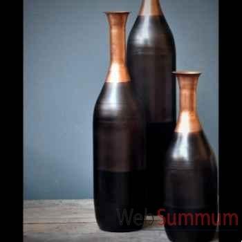Vase tri-colore Objet de Curiosité -DL093