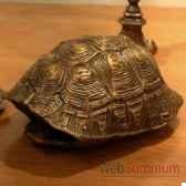 tortue en laiton objet de curiosite dl083