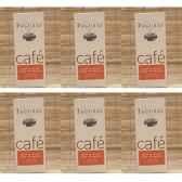 maison faguais lot de 6 paquets cafe santos du bresil