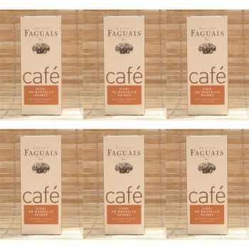 Maison Faguais-Lots de 6 paquets café Sigri de Nouvelle Guinée.