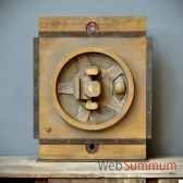 moule de fonderie moyen bois objet de curiosite ta086