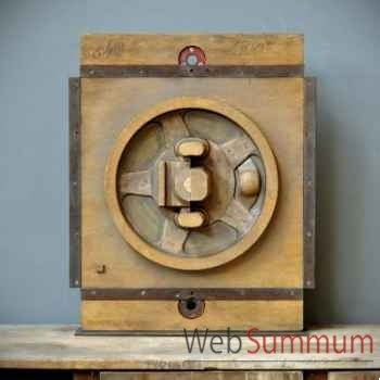 Moule de fonderie moyen bois Objet de Curiosité -TA086