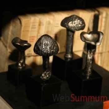 Champignons en aluminium Objet de Curiosité -DL074