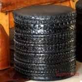 pouf en pneu de vtt objet de curiosite si015