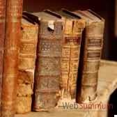 livres reliure xviii lot de 10 pieces objet de curiosite liv010