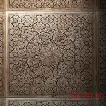 Décoration murale damasquinée Objet de Curiosité -TA078