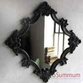 miroir carre objet de curiosite da027