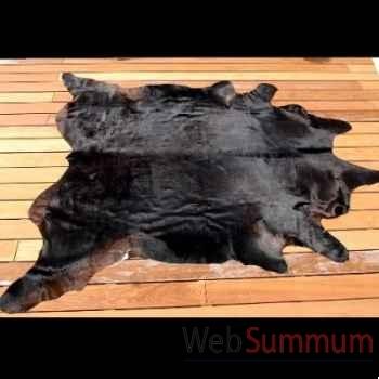 Peau de vache noire Objet de Curiosité -AN029