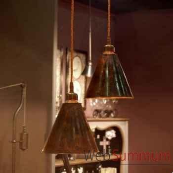 Suspension en cuivre martelé Objet de Curiosité -LU063