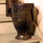 vase feuilles objet de curiosite dc003
