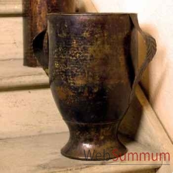 Vase feuilles Objet de Curiosité -DC003