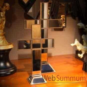 Croix en miroir gm Objet de Curiosité -DA059