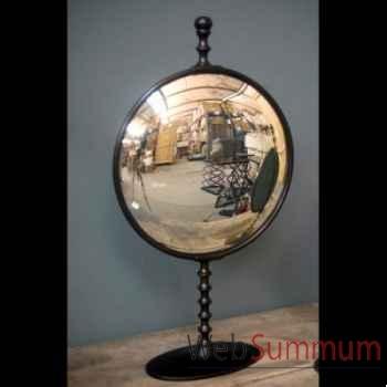 Miroir convexe en aluminium gm Objet de Curiosité -MR010