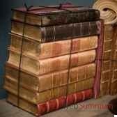 livres petite reliure vieillie a la main objet de curiosite liv009