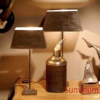 Lampe st copper gm Objet de Curiosité -LU016