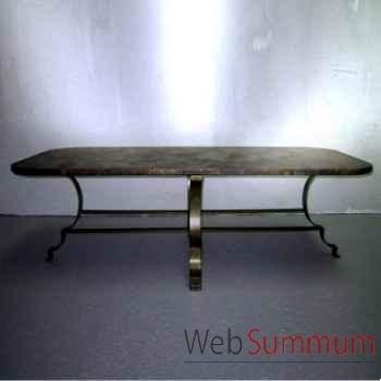 Table basse cuivre Objet de Curiosité -FE028