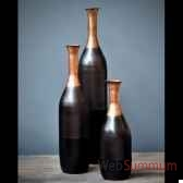 vase tri colore objet de curiosite dl094