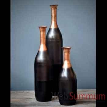 Vase tri-colore Objet de Curiosité -DL094