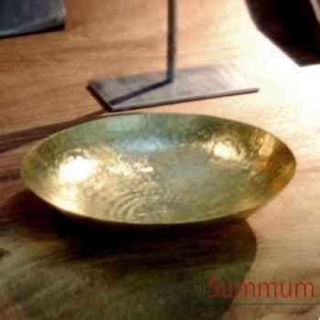 Grande coupelle en cuivre Objet de Curiosité -DC015