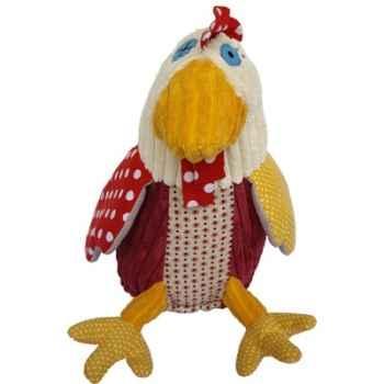Peluche Déglingos - Chickos la poule - D36509