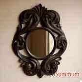 miroir noir objet de curiosite da026