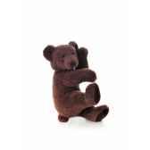 les petites marie peluche retro ours chocolat
