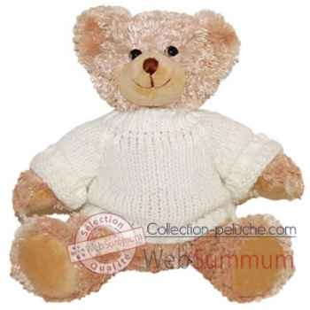 Les Petites Marie-Peluche rétro, ours Hugo assis