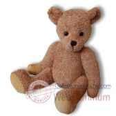 les petites marie peluche retro ours leonard articule